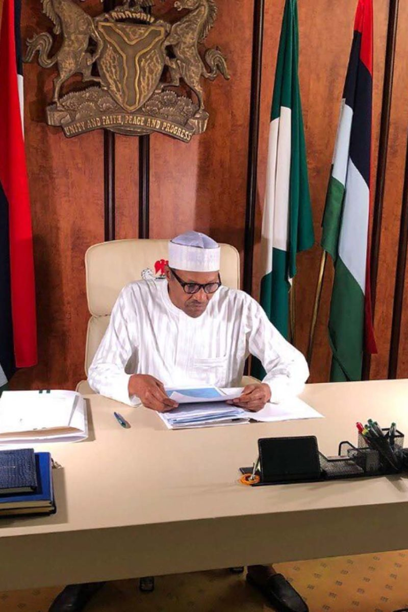 President Buhari Signs Executive Order on Financial Autonomy of State Legislature, Judiciary