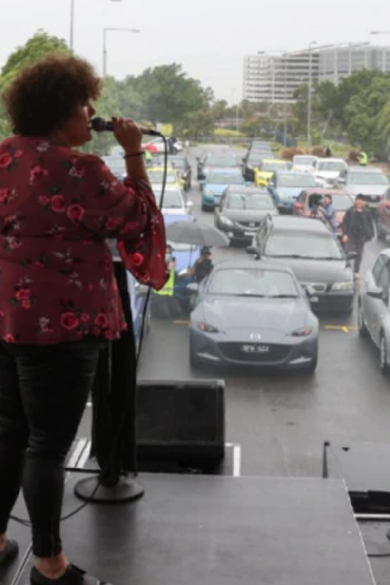 COVID-19: Sydney Fans Watch Live Concert from Cars