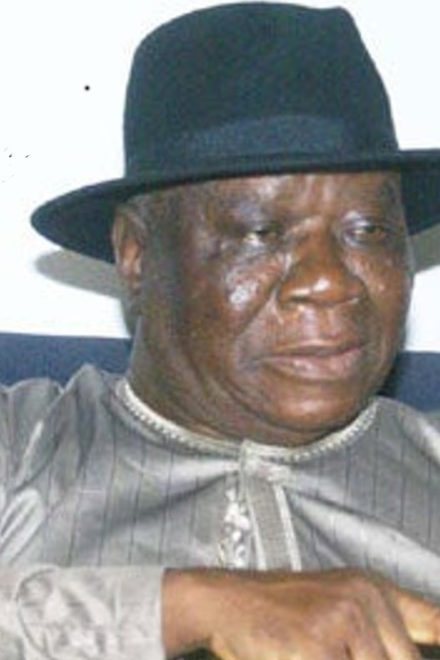 Buhari Salutes Chief Edwin Clark at 93
