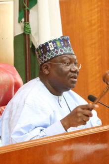 Lawan Asks Senate Panel to Assess Buhari's $4bn Loan Request Within One Week