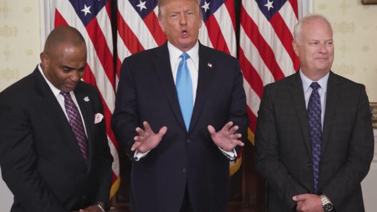 https://www.westafricanpilotnews.com/wp-content/uploads/2020/08/Trump-Pardon-Bank-Robber-Jon-Ponder-08-25-20-1280x720.jpg