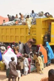 Senator Binani  Reminds People To Be Security Conscious As She Distribute Mattresses, Blankets To IDPs