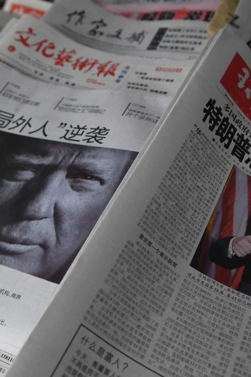 Russian Media May Be Joining China and Iran in Turning on Trump