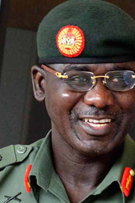 The Chief Army Staff (COAS), Lt.-Gen Tukur Buratai, Has Inaugurated a 30-bed Hospital at Tigi Community of Riyom LGA of Plateau.