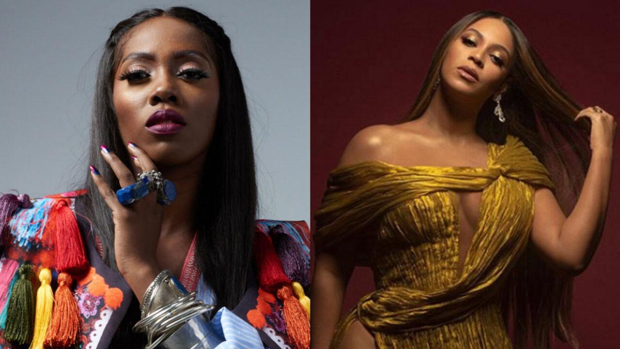 https://www.westafricanpilotnews.com/wp-content/uploads/2020/10/Musician-Tiwa-Savage-Beyonce-10-21-20-1280x720.jpg