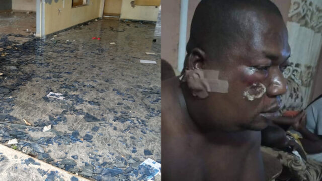 Looting: Taraba Business Tycoon, Chief Uche Obi Escaped Death As Hoodlums Attack His School, Warehouse
