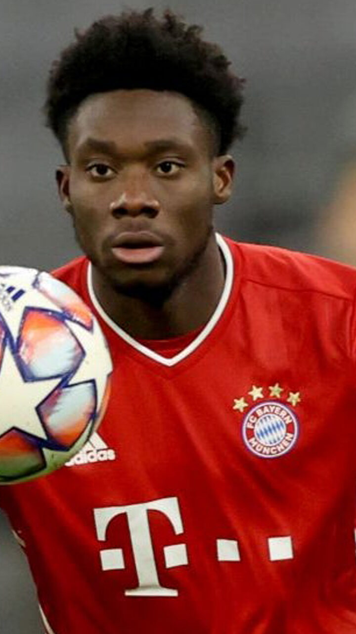 Bayern Munich Star, Aphonso Davies Uses Burna Boy's 'Way Too Big' in Celebration Video