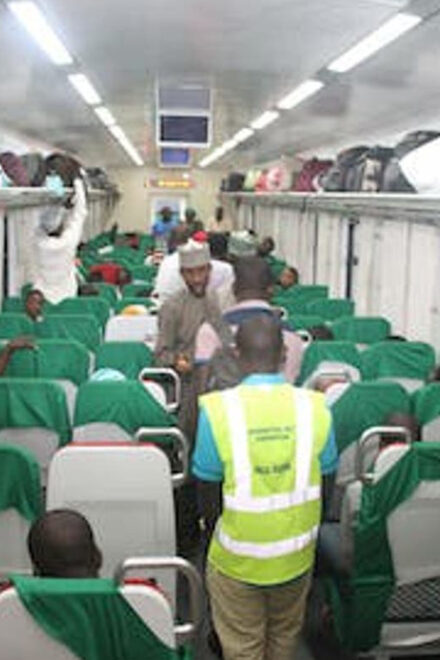 FG Inaugurates N900m e-ticketing Platform for Abuja-Kaduna Train Service
