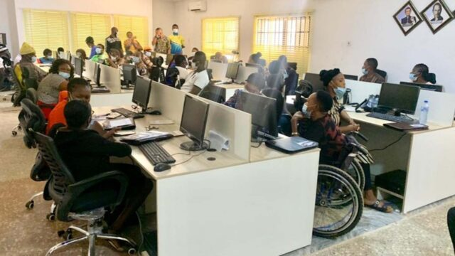 Persons Living With Disabilities in Enugu Receives IT Intervention and Entrepreneurship