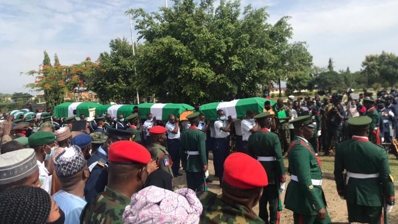 https://www.westafricanpilotnews.com/wp-content/uploads/2021/05/Burial-of-Army-Chief-Attahiru-and-other-officers-5-22-21-1280x720.jpg