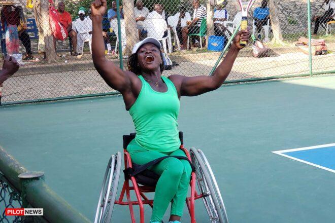 Nwazuzu Wins Women's Wheelchair Tennis Event at CBN Senior Open