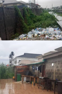 LASG Serves Properties Encroaching On Canals 3 Days Removal Ultimatum