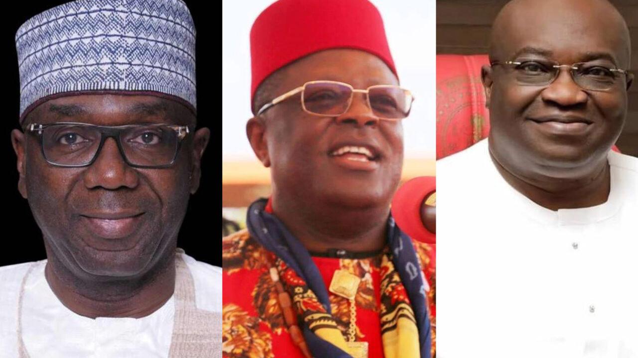 https://www.westafricanpilotnews.com/wp-content/uploads/2021/06/Ikpeazu-Umahi-AbdulRazak_Governors-of-Abia-Ebonyi-Kwara-1280x720.jpg