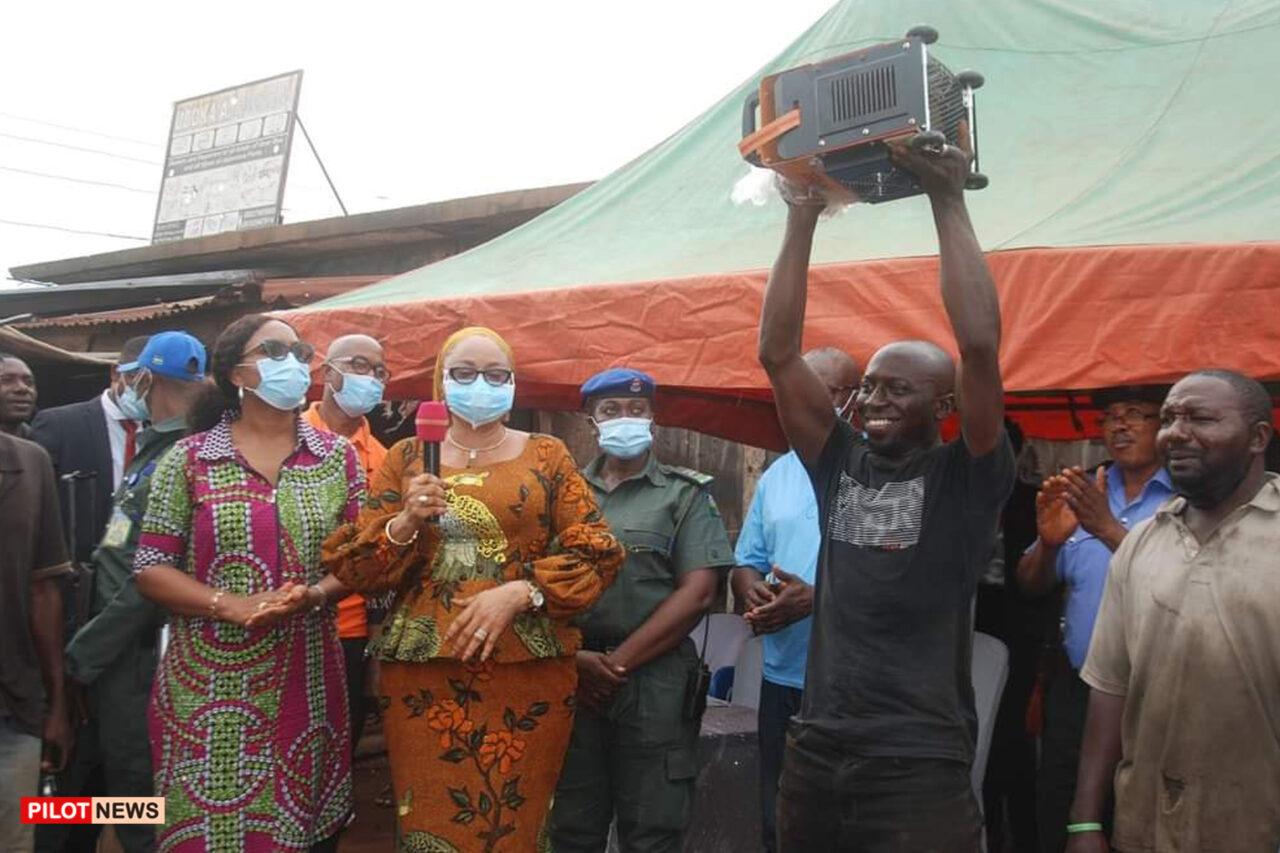 https://www.westafricanpilotnews.com/wp-content/uploads/2021/06/Welders-Mrs-Ezeilo-Deputy-Governor-and-a-beneficiary-of-the-Welding-machine_6-10-21-1280x853.jpg