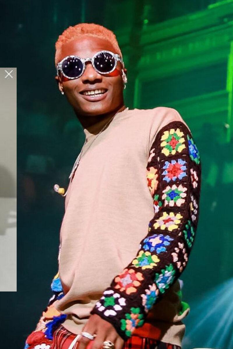 Nigerian Superstar, Wizkid Receives Grammy Awards Plaque
