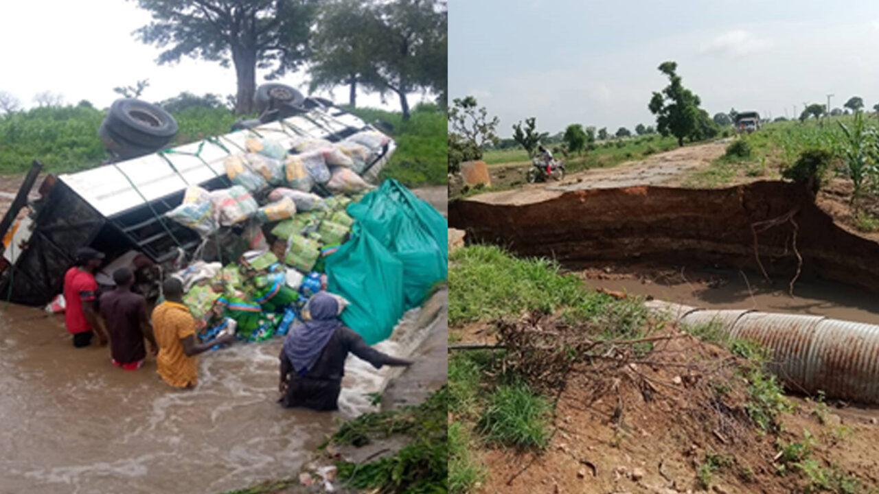 https://www.westafricanpilotnews.com/wp-content/uploads/2021/08/Truck-capside-in-flooded-highway_8-21-21-1280x720.jpg
