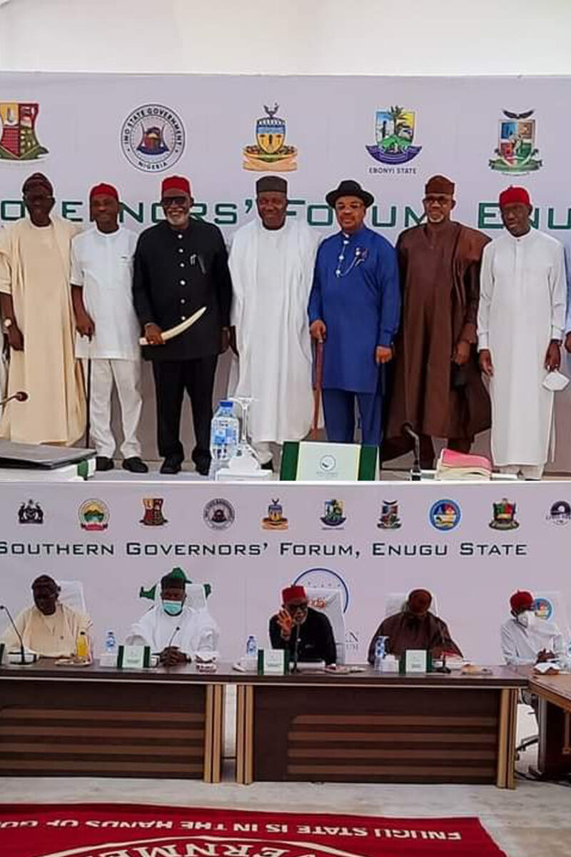 Nigerian Southern Governors' Forum Support Zoning Of Presidency To South, States Collection Of VAT