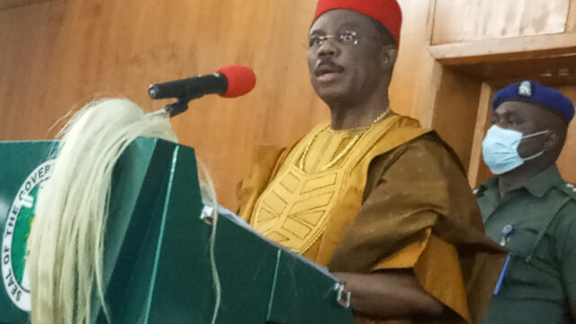 Anambra State Governor Obiano Presents 2022 Budget to State Assembly